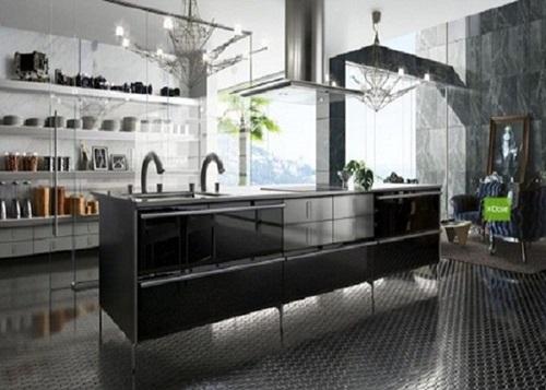 Kitchen Decorating Ideas – Glass Appliances