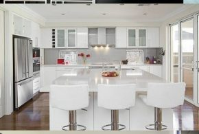 Kitchen Decorating Ideas - Glass Appliances