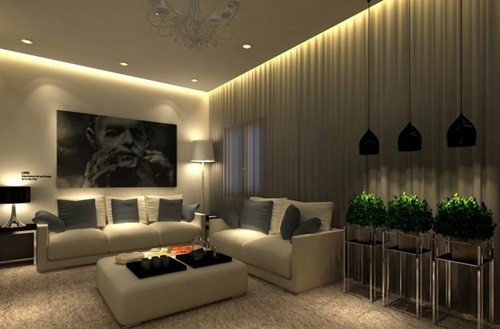 Lighting Your Living Room Interior Design