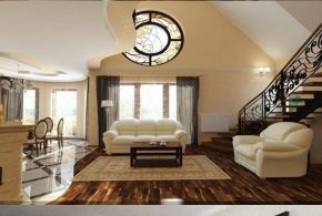Living Room Decorating Ideas - Elegant Decoration