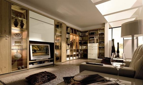 Living room cabinets - different designs