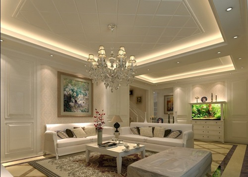 Living room lighting ideas – ceiling spot