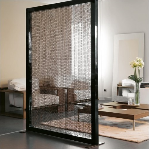 Modern glass room dividers interior design for Window dividers