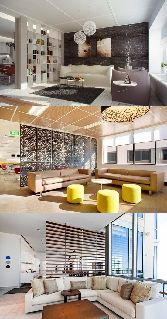 Modern Living Room Dividers Interior Design
