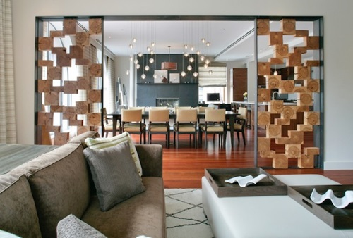 Modern living room dividers interior design - Living room modern partitions ...