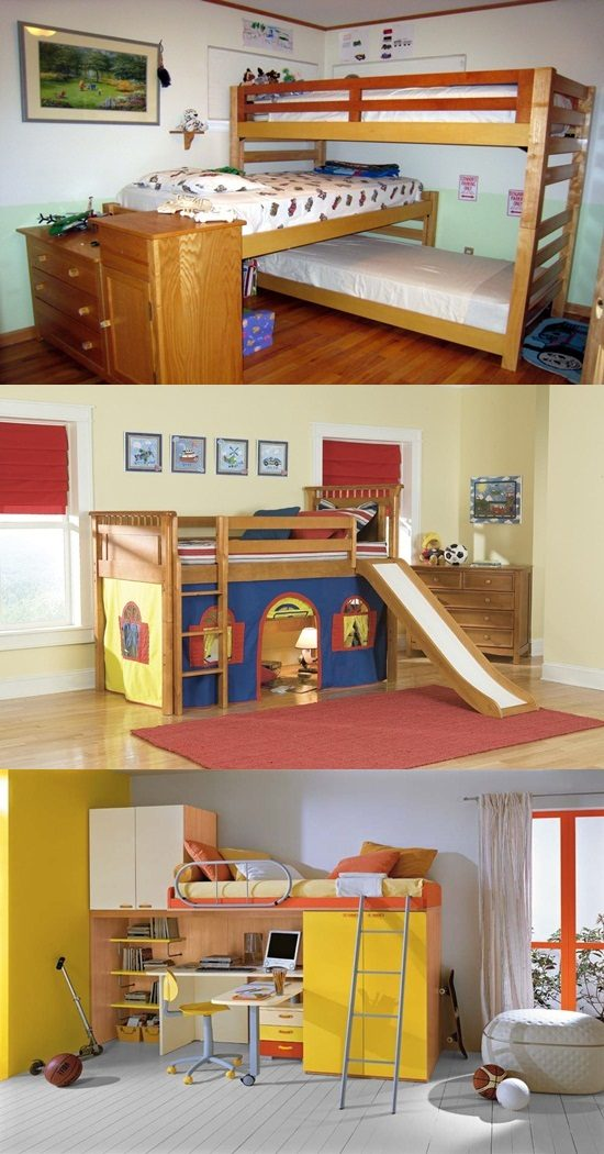 multifunctional bunk beds for kids room interior design Beds for Small Rooms Bedroom Chairs