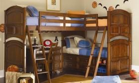 Multifunctional bunk beds for kids room