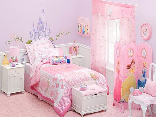 Pink bedrooms for little girls interior design - Little girls bedrooms ...