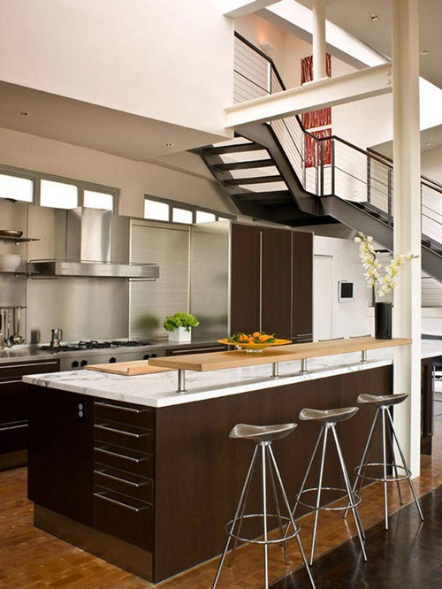 Practical designs for limited space kitchens interior design for Kitchen ideas limited
