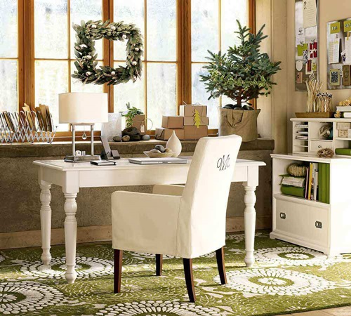 Practical home office desk for living rooms interior design for Practical living room designs