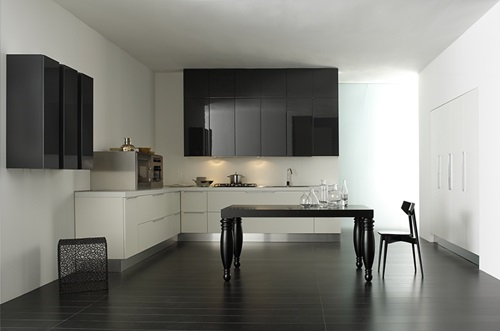 Pretty Modern Colors For Your Kitchen Cabinet Interior