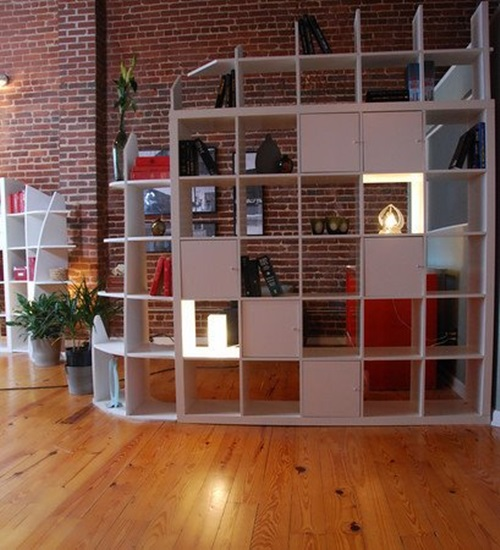 Room Dividers for Storage purposes