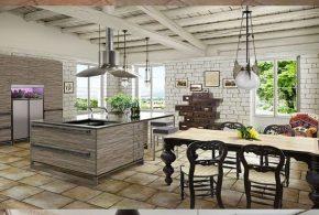 Rustic Kitchen Design - Classic Furniture