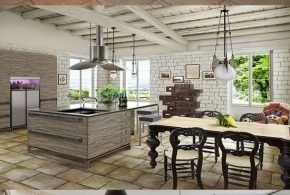 Rustic Kitchen Design - Classic Furniture