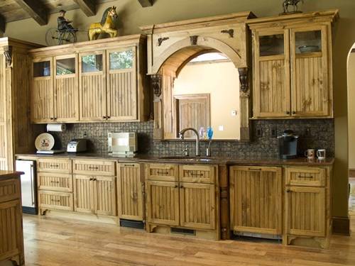 Rustic kitchen design – classic furniture Rustic kitchen design – classic furniture