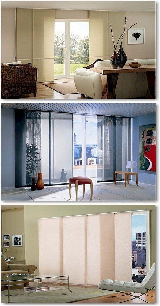 Sliding Panel Window Treatment