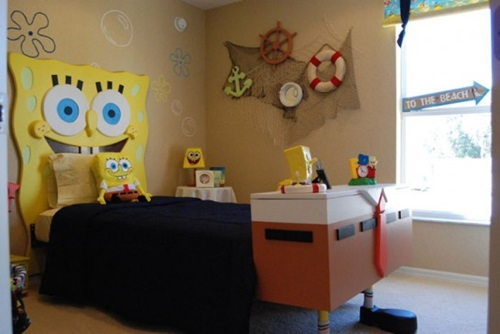 SpongeBob Square Pants Themed Room Design