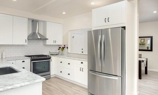 Tips for remodeling your refrigerator interior design for Brand new kitchen designs