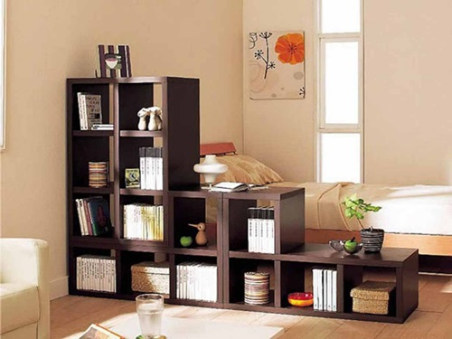 Types and usage of the bookcase