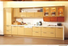 Wood in Generating Modern Furniture - Kitchen Cabinets
