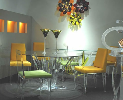 acrylic furniture indoor and outdoor acrilic furniture