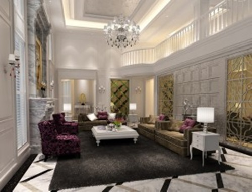 A living room…or better…a luxurious living room!!