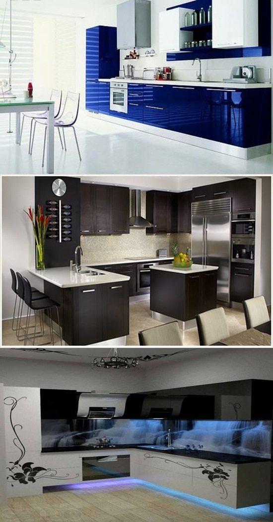 Amazing kitchen interior design interior design for Amazing interior decoration