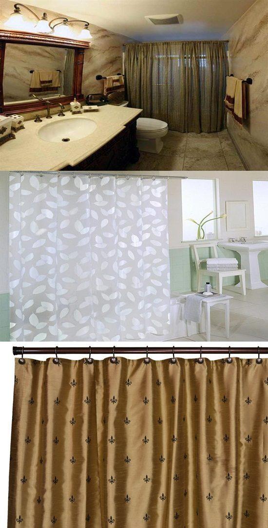 Bathroom Shower Curtains – Original Decorating Ideas ...
