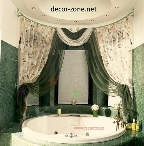 ... Bathroom Drapery Ideas Bathroom Shower Curtains Original Decorating  Ideas ...