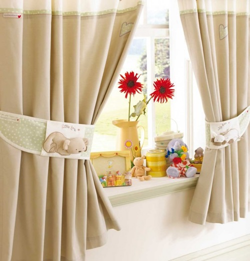 Beautiful Cottage Style Curtains