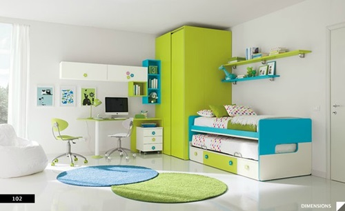 Beautiful Wardrobes For Kids Bedroom Interior Design
