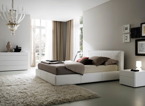 Bedroom Designs and The Timelessness of White Color