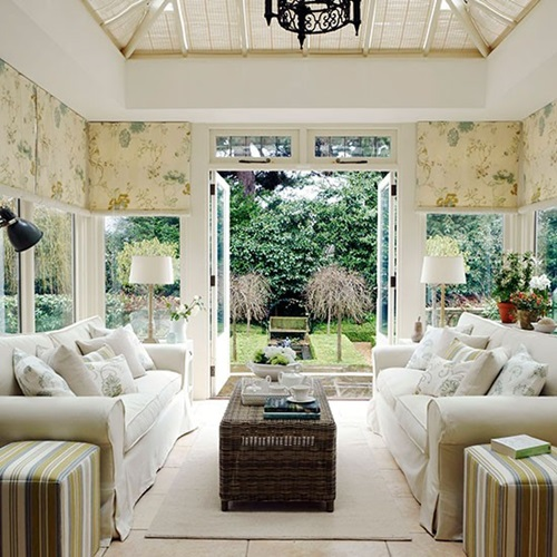Sunroom Dining Room Creative: Conservatory Room Furniture And Decoration
