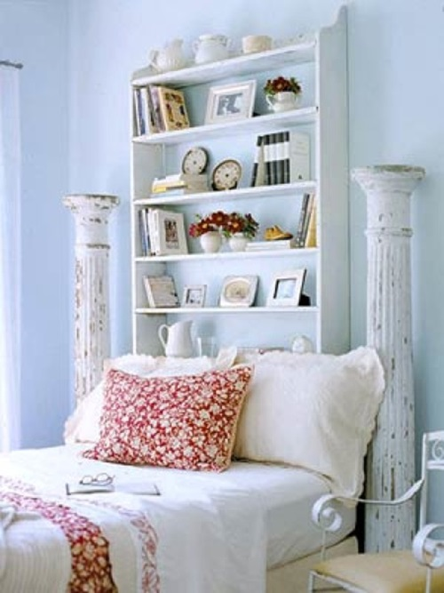 Creative Headboard Bookcases - shelves