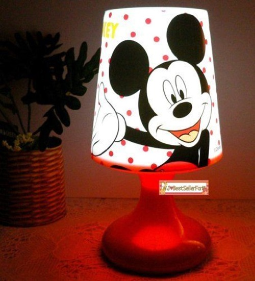 Cute and Functional Nightlight Table Lamps
