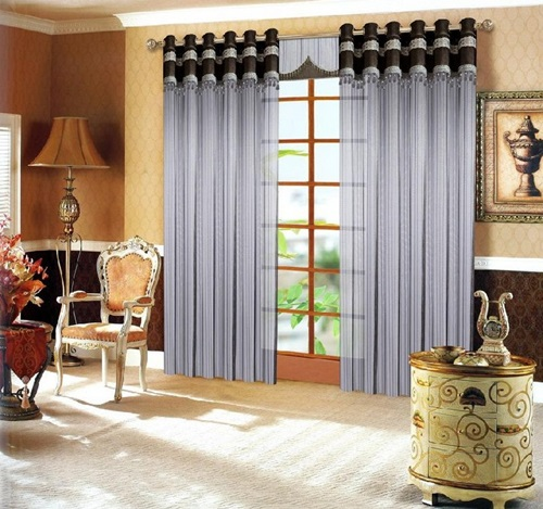 Different Kinds of Curtains for an Elegant look