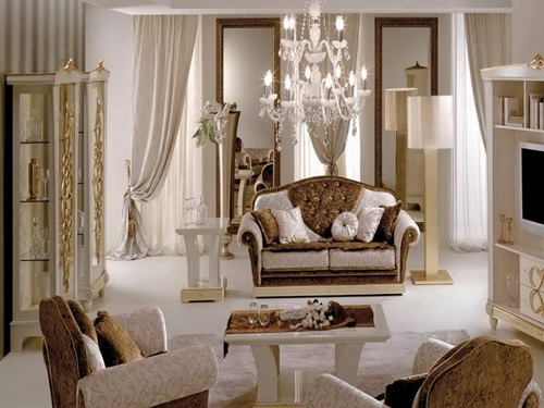 Elegant living room design ideas interior design for Living room ideas elegant