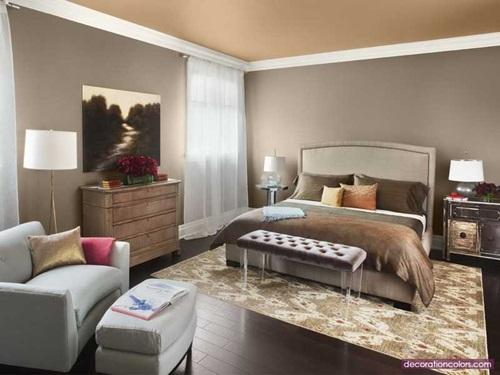 Fashionable wall decorations - vibrant colour