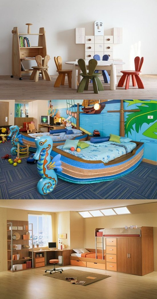 Funny Kids Bedroom Furniture And Design Interior Design