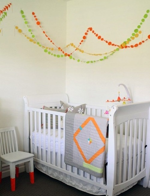 Gender neutral kids bedrooms interior design for Neutral bedroom wallpaper