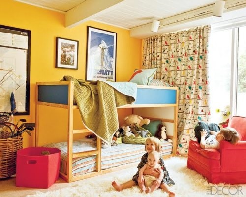 gender neutral kids bedrooms interior design