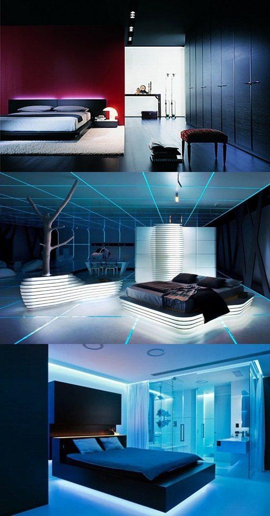 ideas on designing a futuristic bedroom interior design