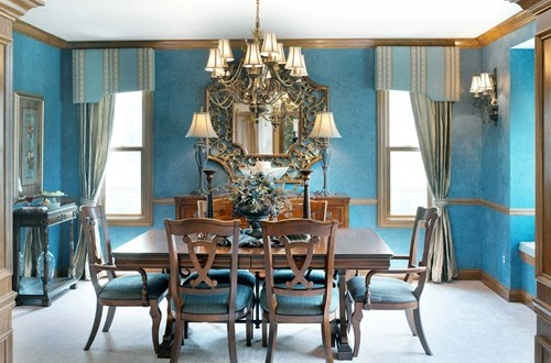 Latest trends in dining room designs for Latest dining room designs