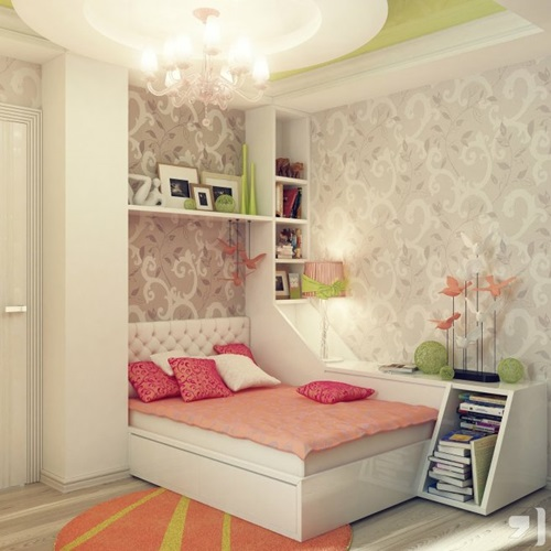 Little Girl's Bedroom Design