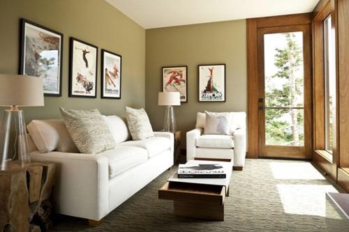 Living Room Ottoman – Beautiful Design Ideas - Interior design