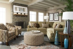Living Room Ottoman – Beautiful Design Ideas