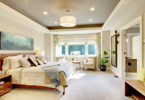 Master Bedroom, Furniture Styles, Bright Colors, Seating Area