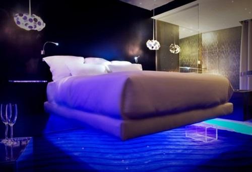 minimalist bed for modern bedroom interior design. Black Bedroom Furniture Sets. Home Design Ideas