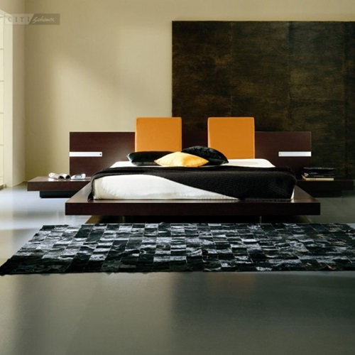 Minimalist bed for modern bedroom interior design for Modern minimalist bedroom