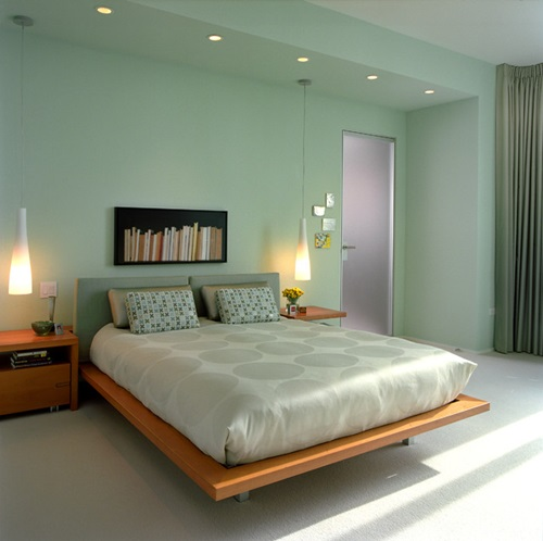 Minimalist Bed for Modern Bedroom